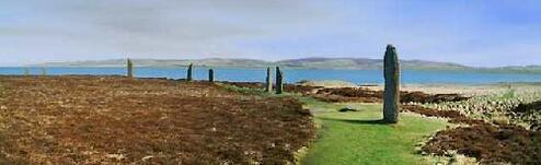 This is how it looks on Orkney
